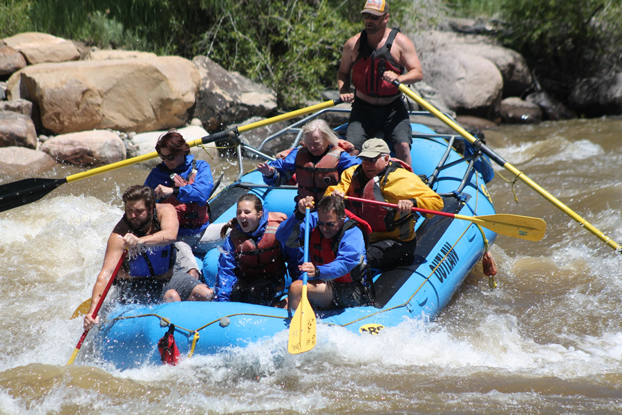Durango Rafting on the Animas River with Outlaw Tours